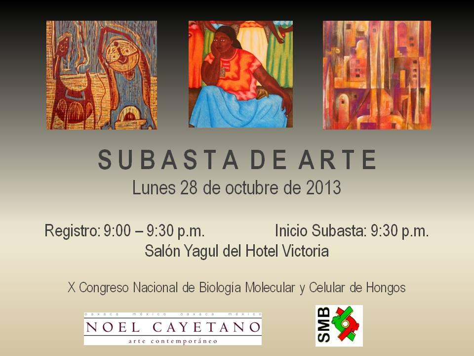 Invitacion Subasta Arte