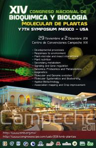 XIV Congreso Nacional de Bioquímica y Biología Molecular de Plantas