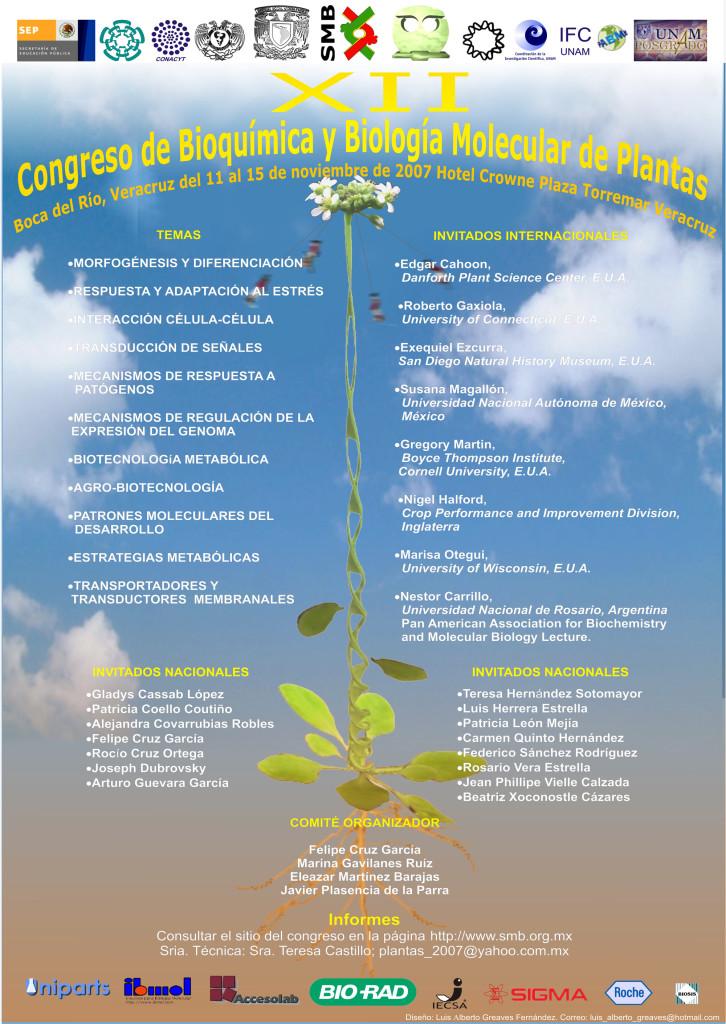 XII Congreso de Bioquímica y Biología