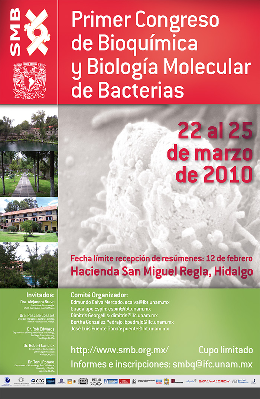 Primer Congreso de Bioquímica y Biología Molecular de Bacterias