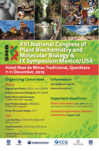 XVI National Congress of Biochemistry and Plant Molecular Biology | Sociedad Mexicana de Bioquímica