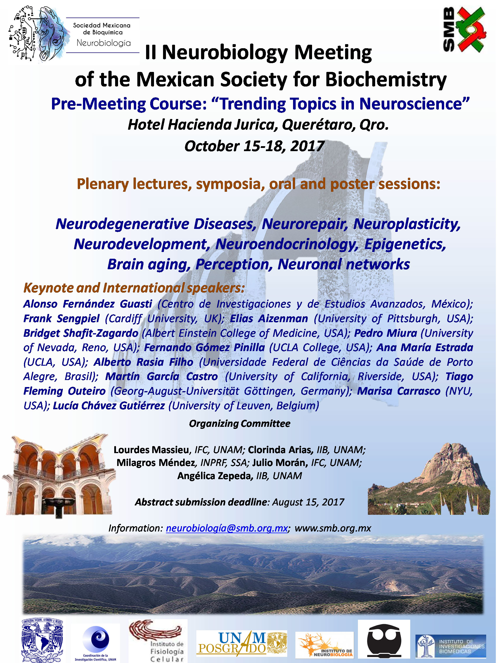 II Congreso Nacional de la Rama de Neurobiología